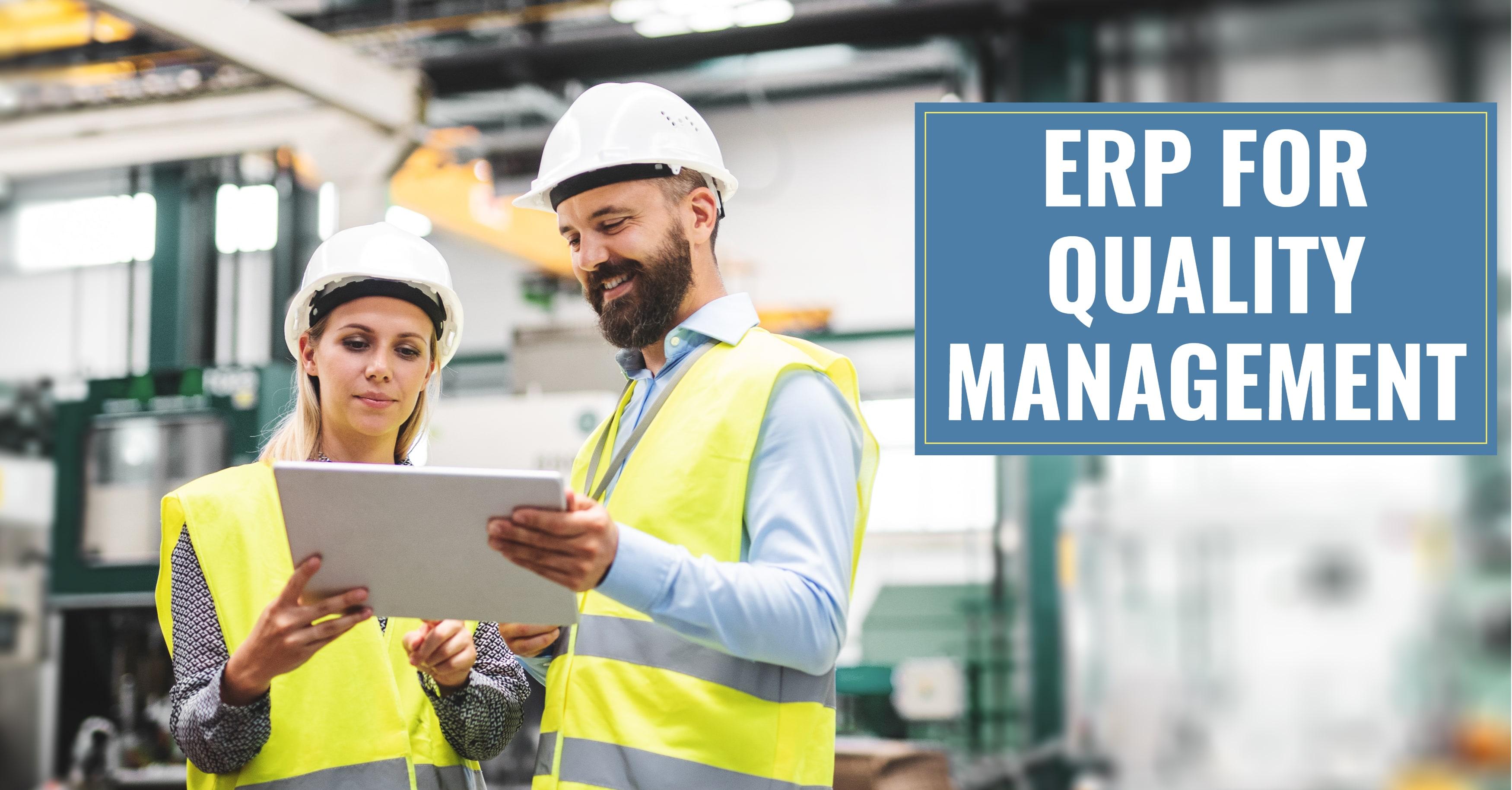 ERP Quality Management