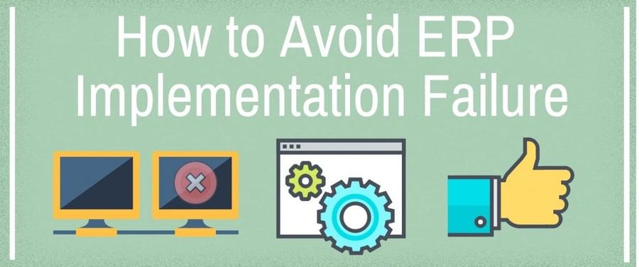 Avoid ERP Implementation Failure