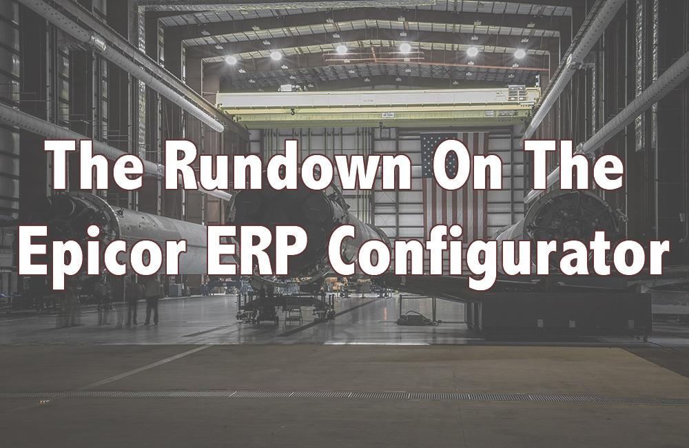 Epicor ERP Configurator
