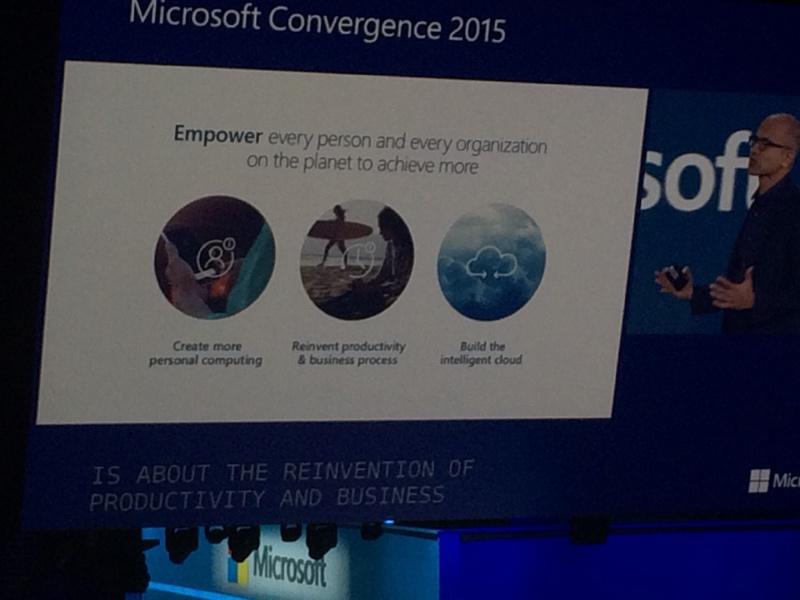 microsoft convergence 2015 1