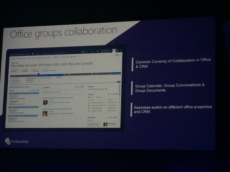 office crm collaboration