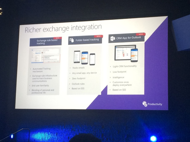 dynamics crm outlook exchange