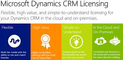 Microsoft Dynamics CRM 2013 Licensing Options