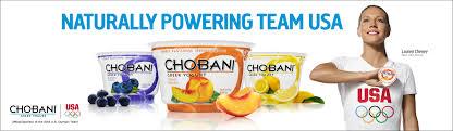 chobani team usa sponsor
