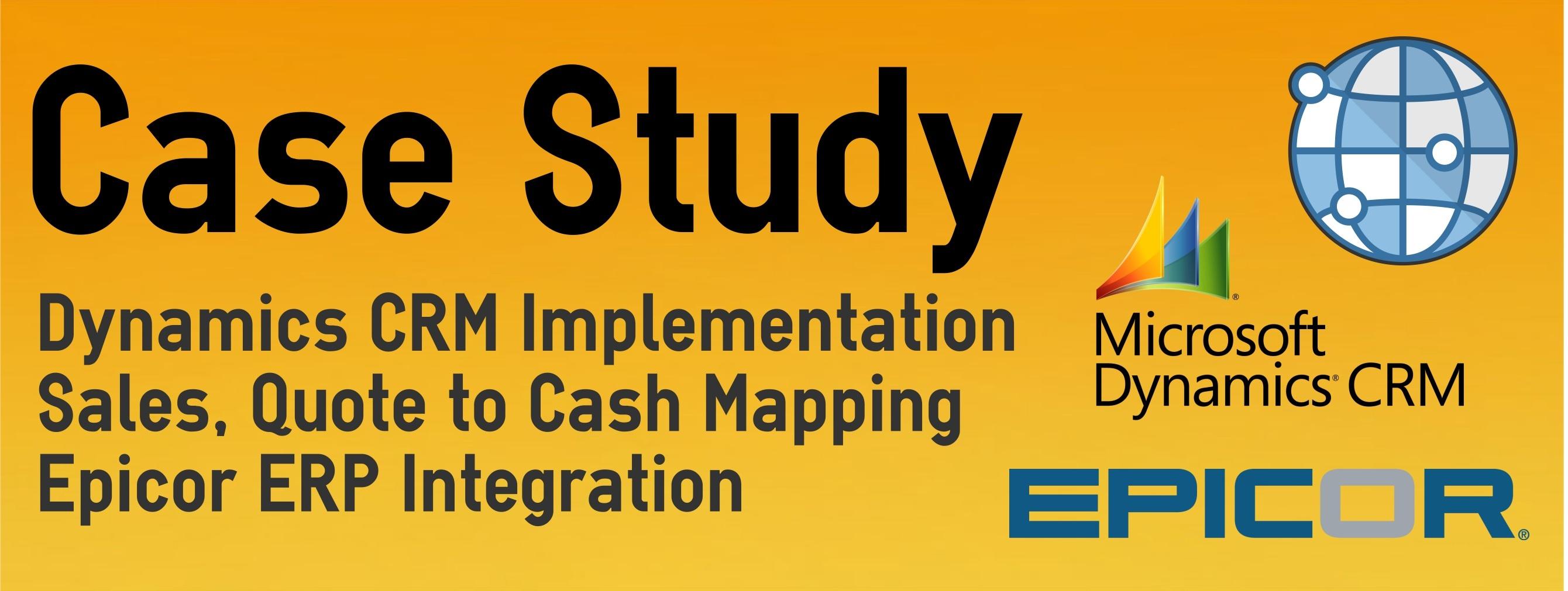 dynamics crm implementation case study