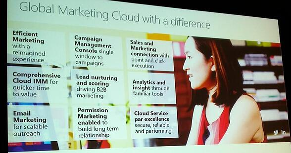 global marketing cloud with a differnce