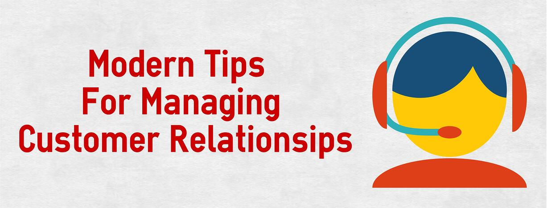 manage customer relationships
