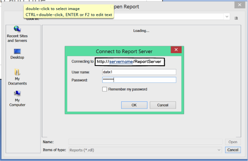 ssrs report erp