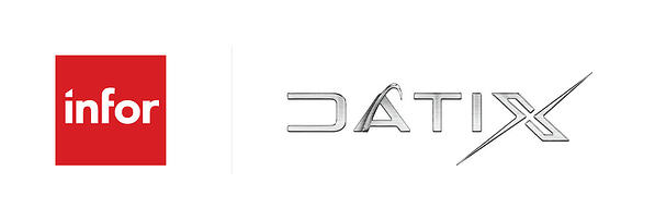 Infor & Datix Logo Lockup