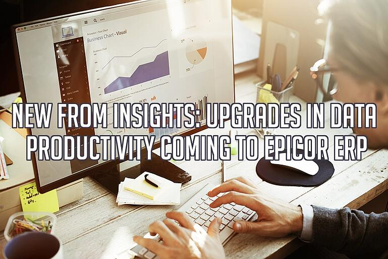 New From Epicor Insights and Data Analytics