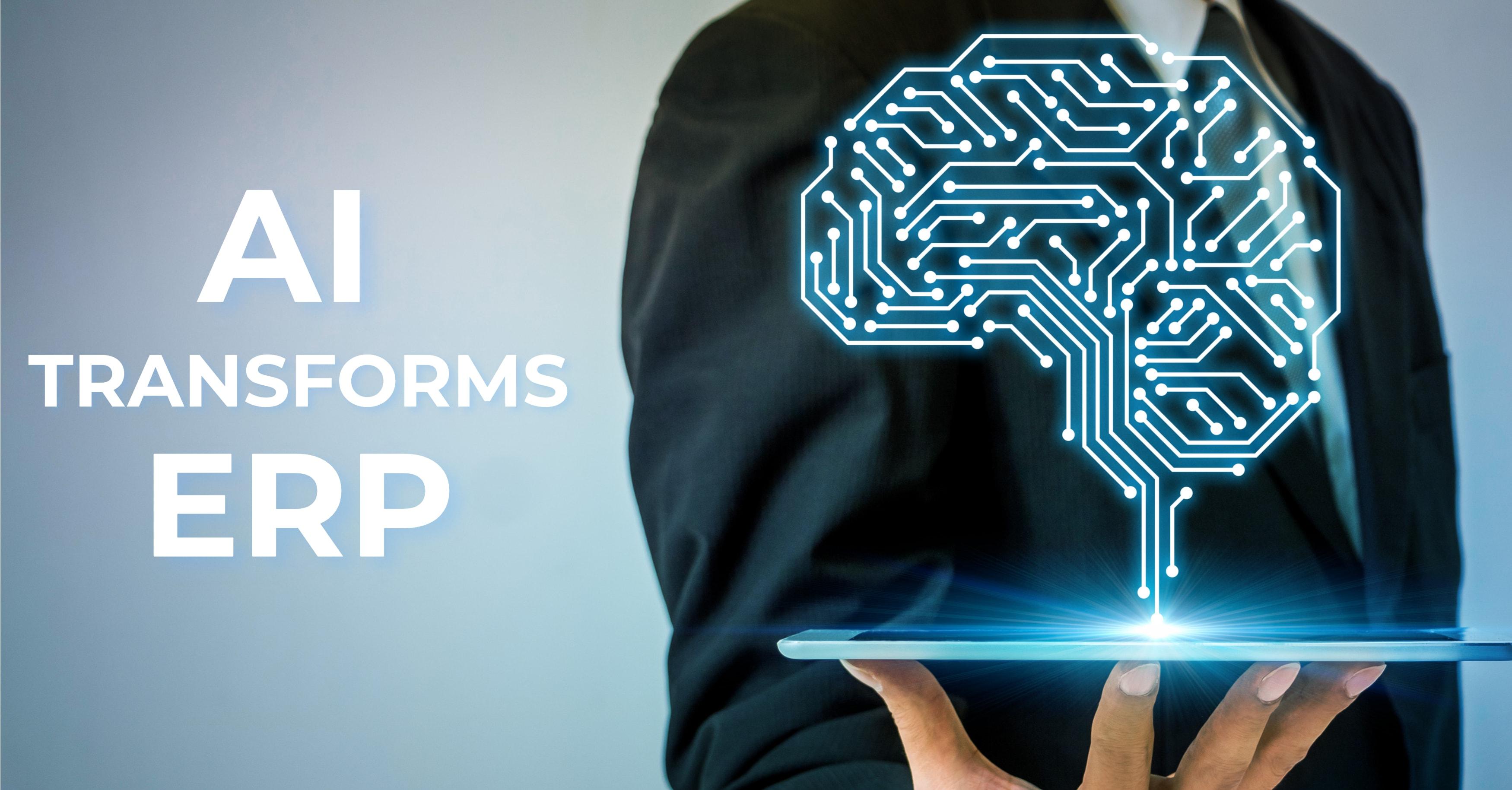 Hogyan javítja fel a mesterséges intelligencia az ERP rendszereket?