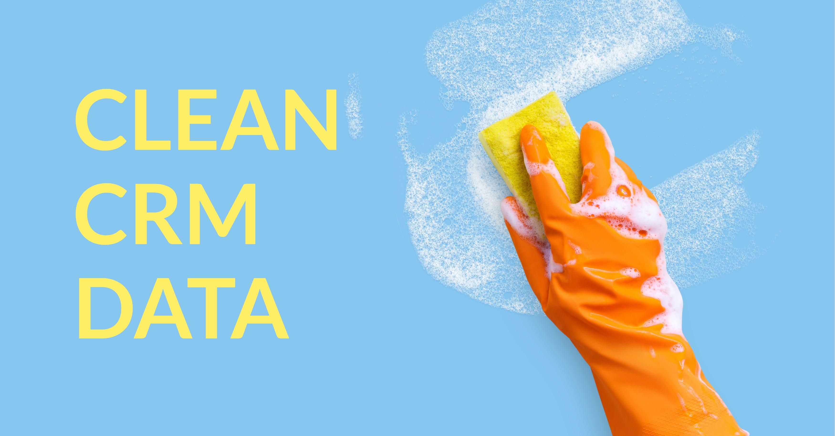 Clean CRM Data