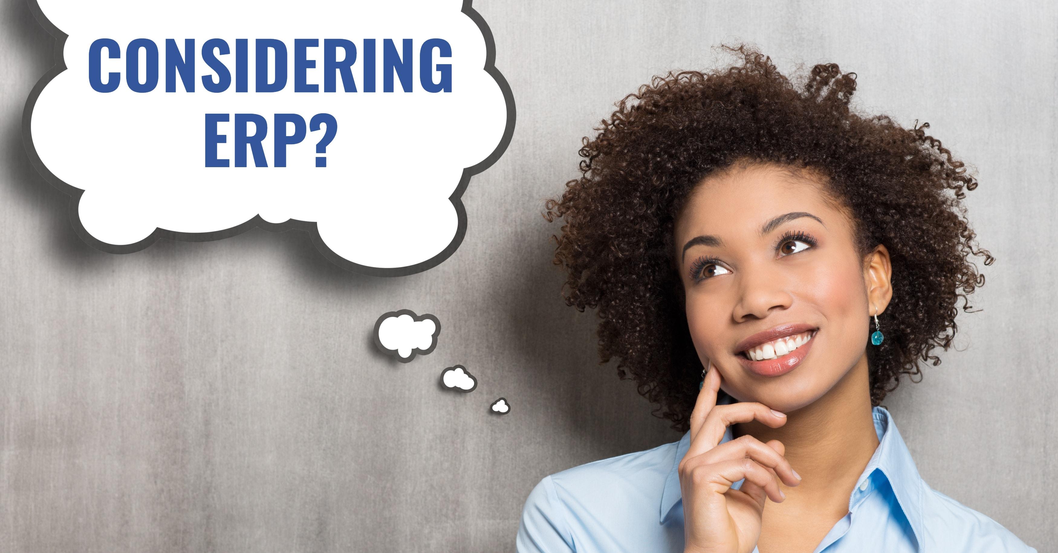 Considering ERP