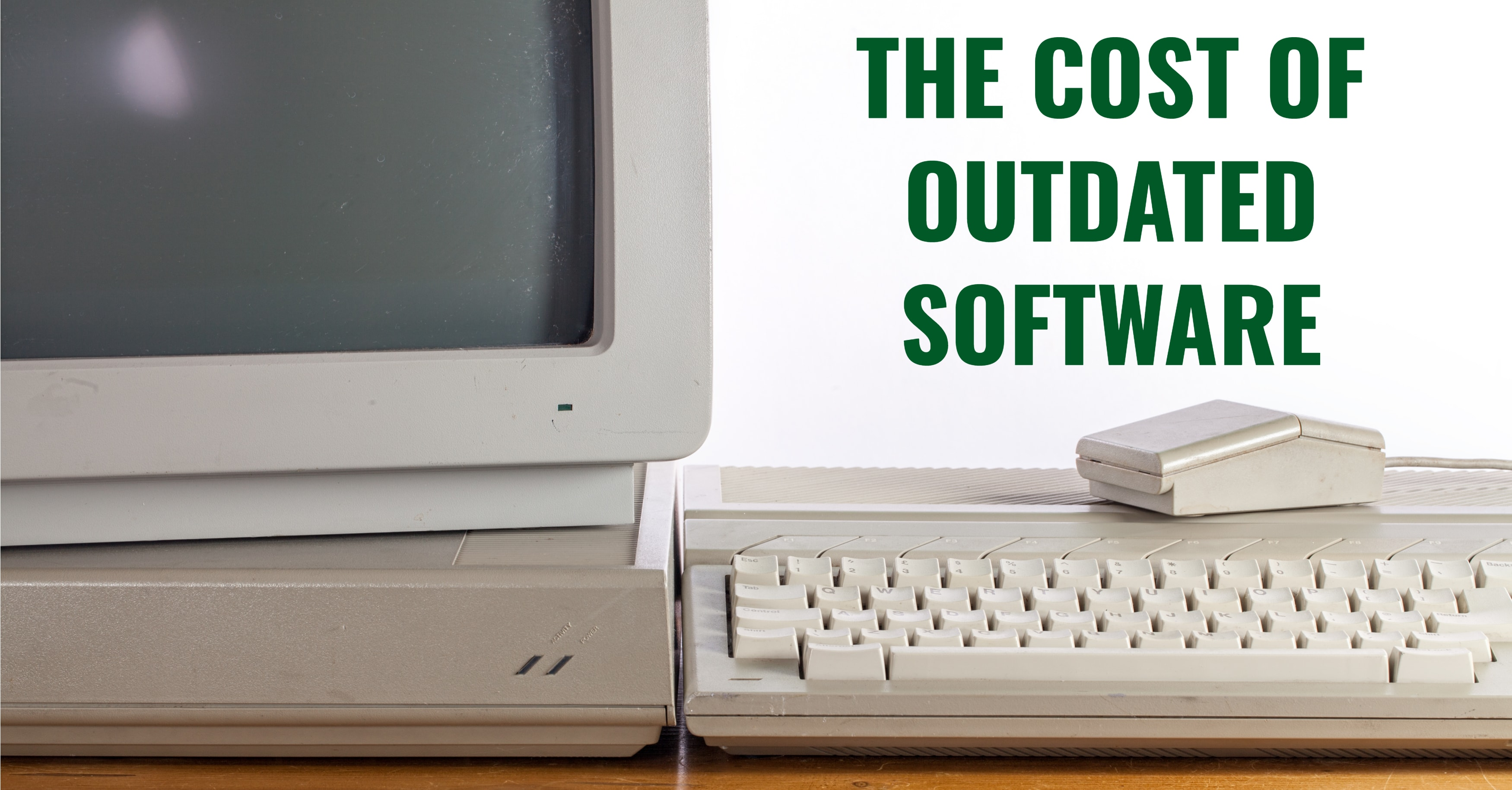 Cost Outdated Software