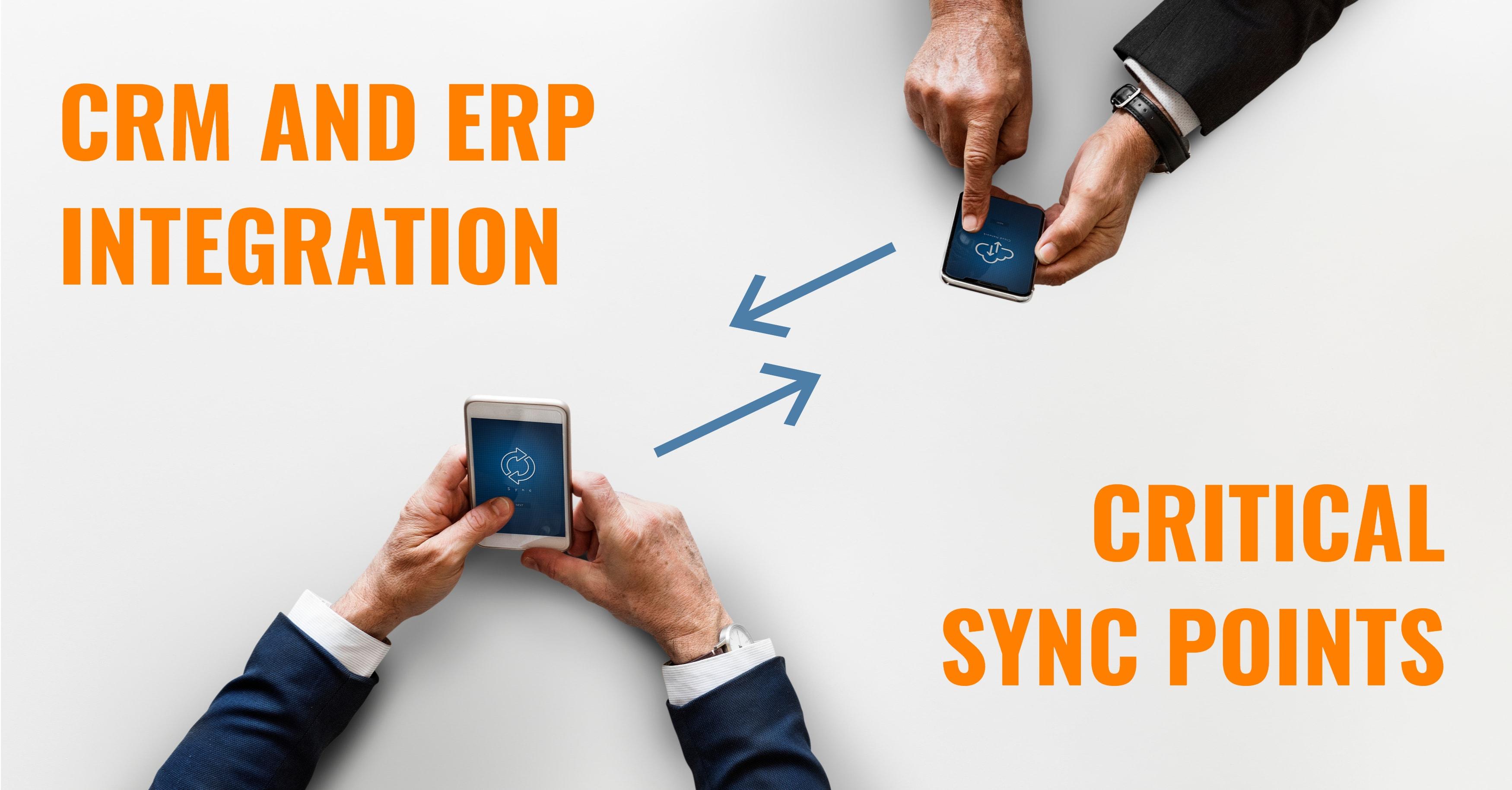 CRM ERP Sync Points