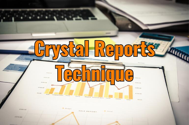 crystal reports technique subreport parent