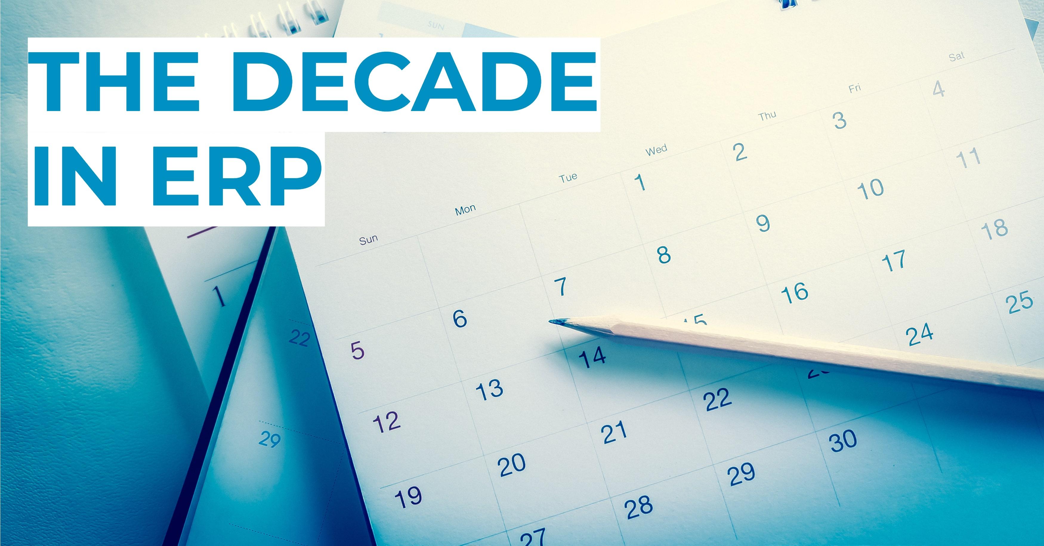 Decade in ERP