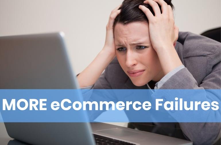 eCommerce Failures