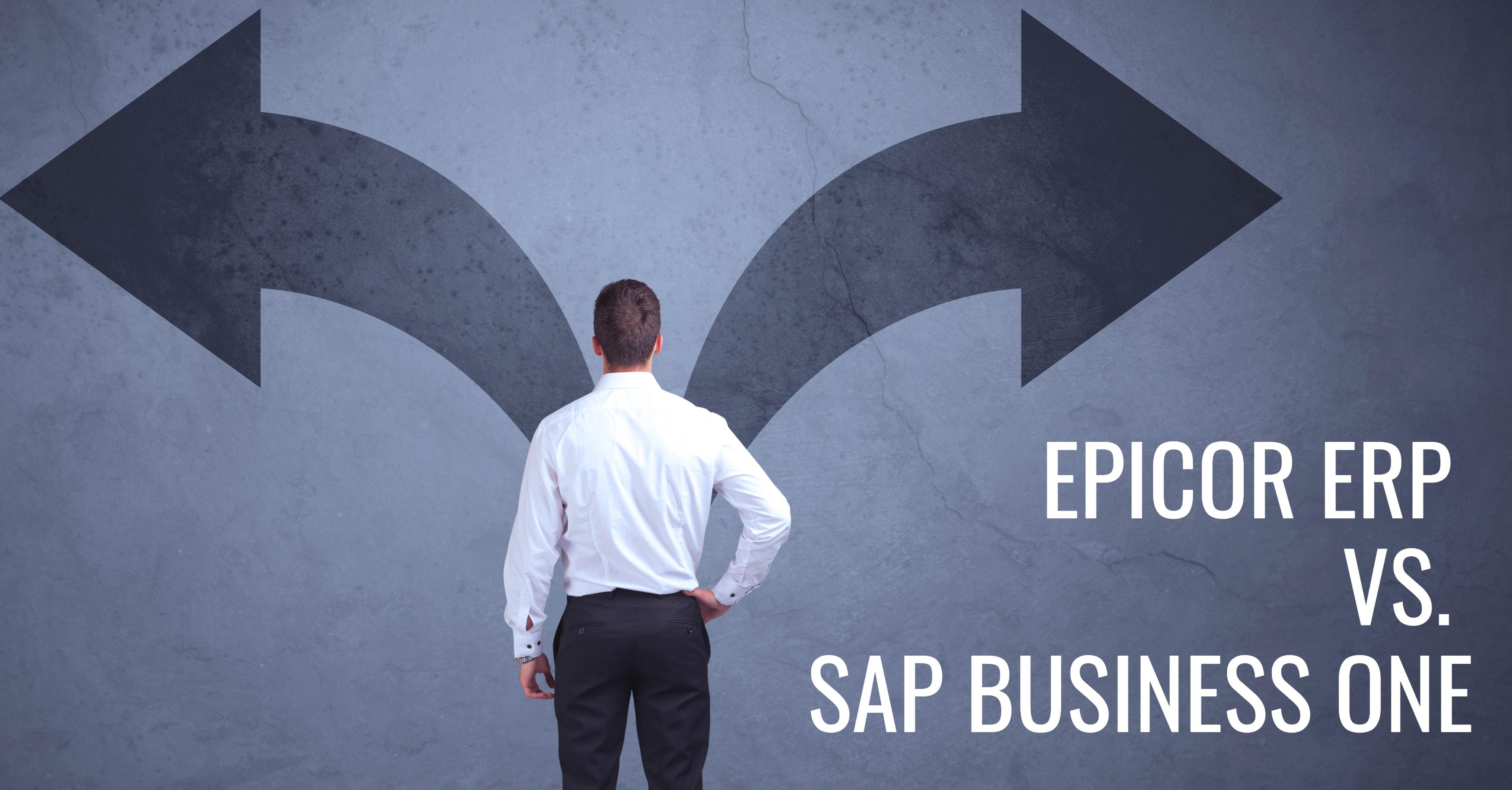 Epicor SAP ERP Comparison