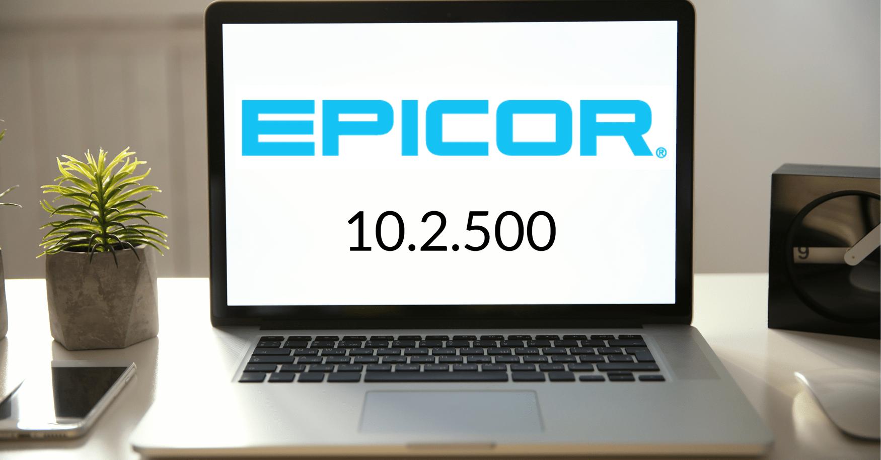 Epicor 10.2.500