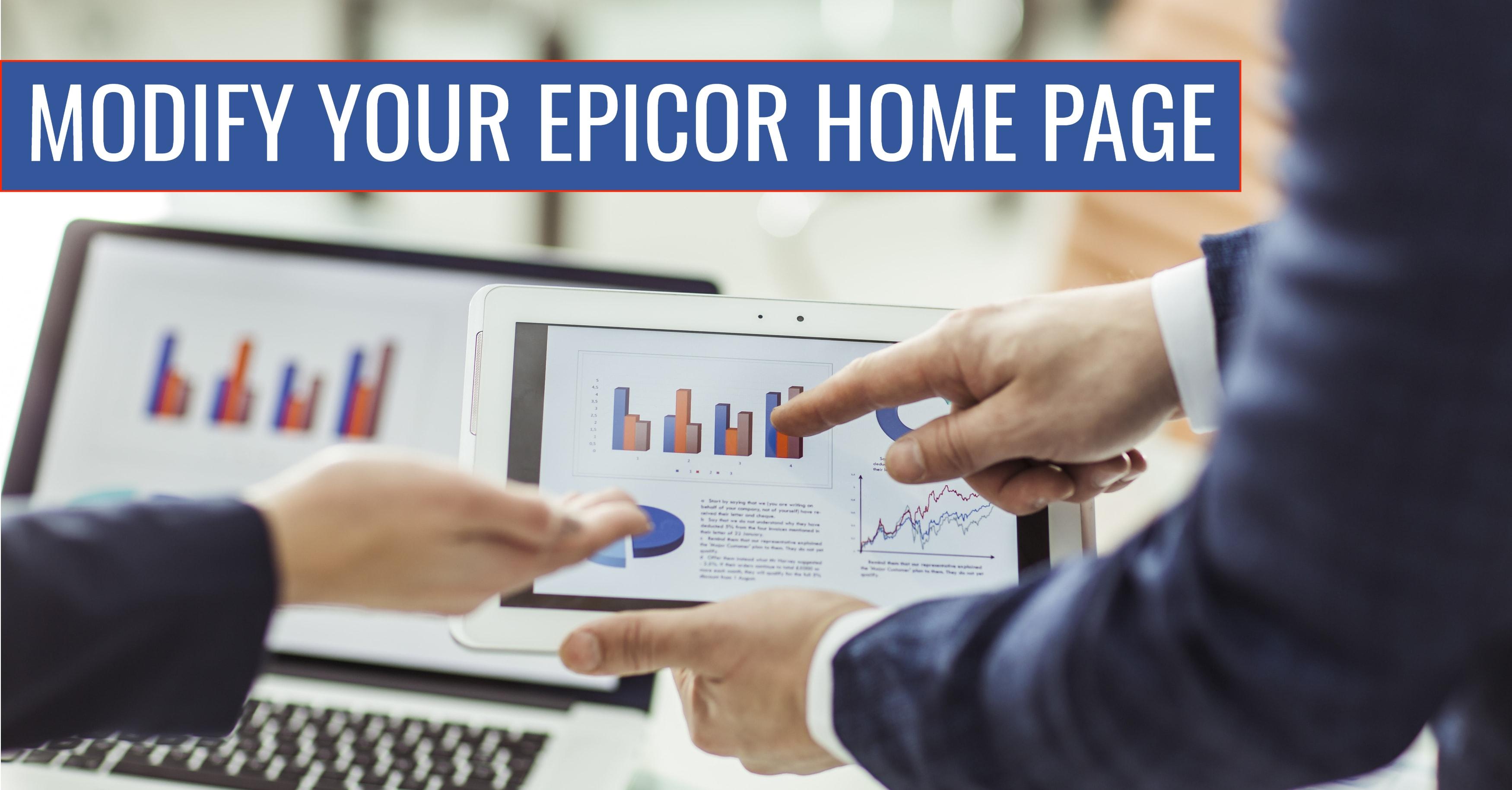 Epicor BAQ Home Page