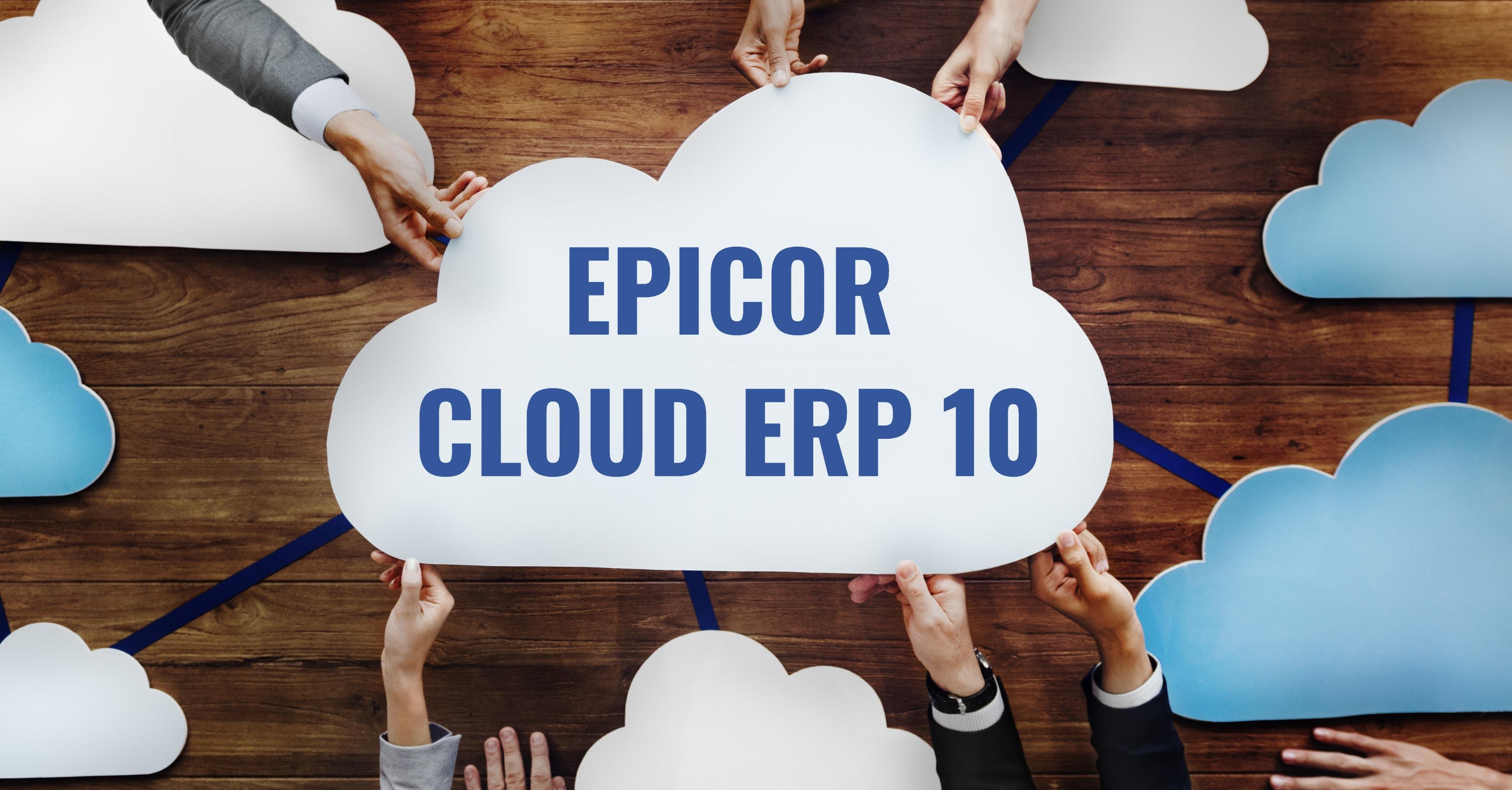 Epicor Cloud ERP 10