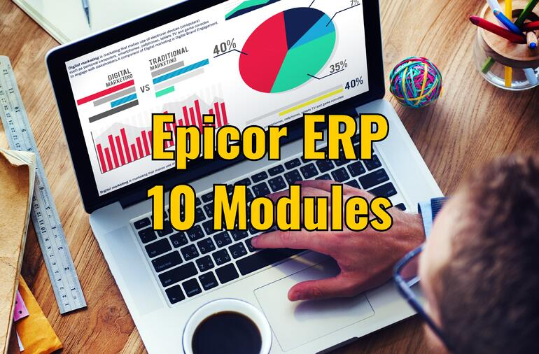 Epicor ERP 10 Modules