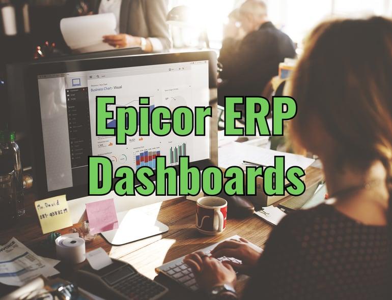 Epicor ERP Dashboards