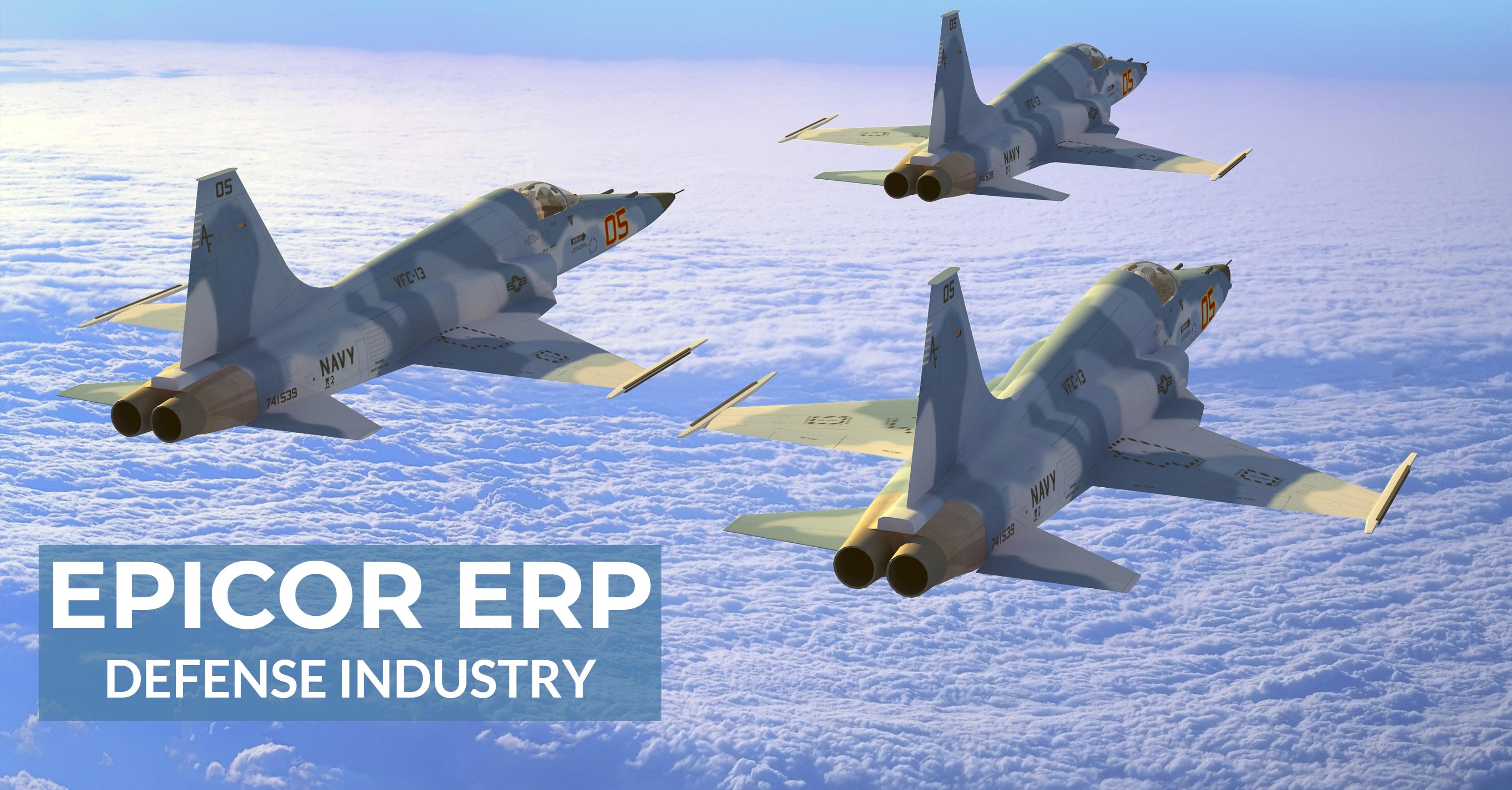 Epicor ERP Defense Industry