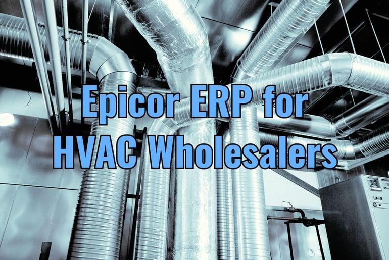 Epicor ERP HVAC Wholesalers
