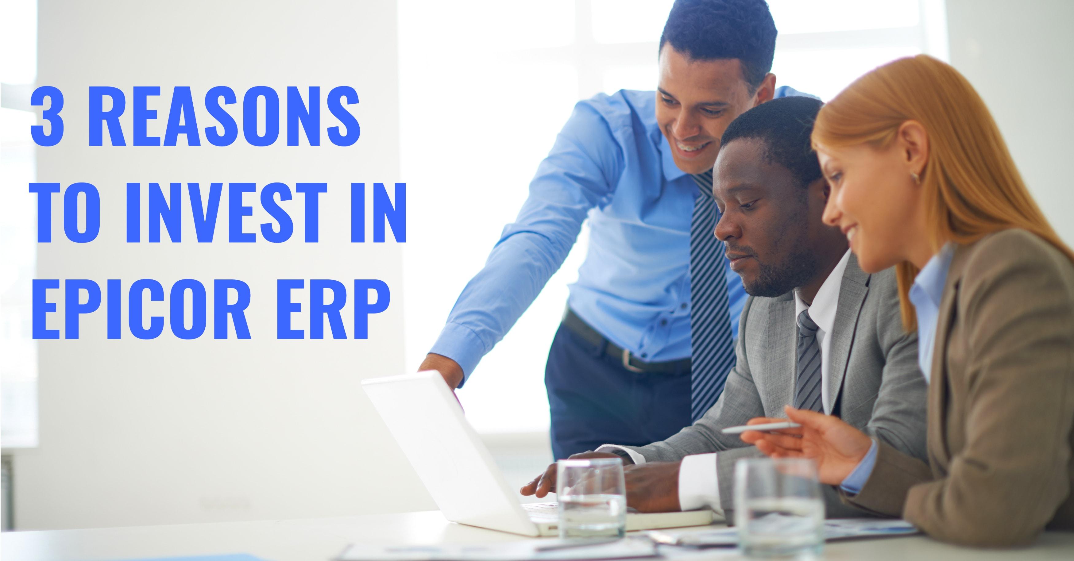 Epicor ERP Investment