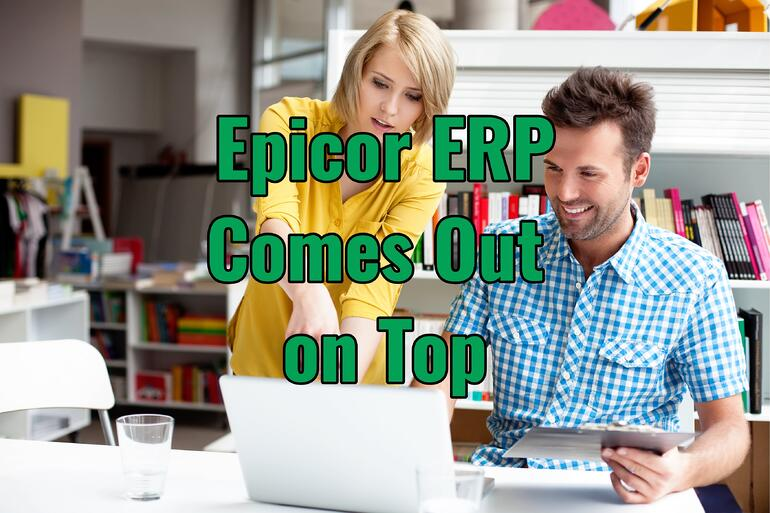 Epicor ERP on top