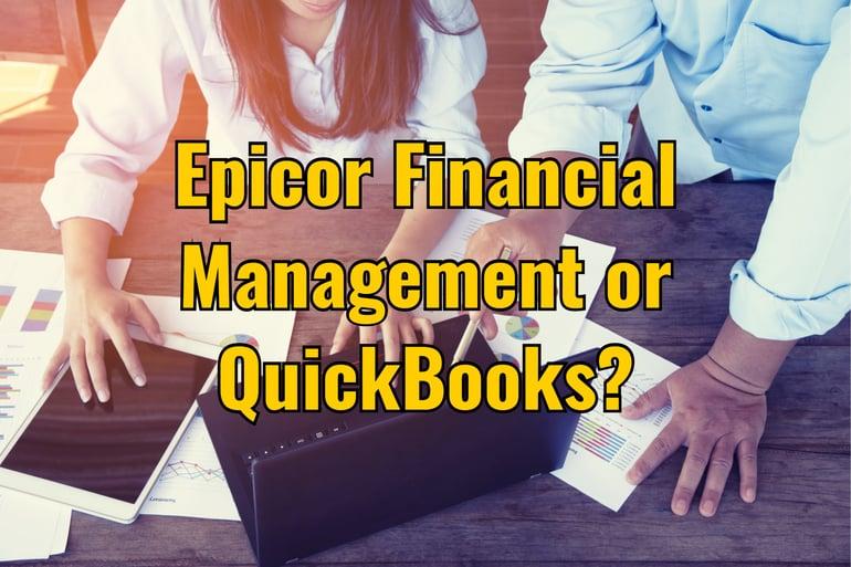 Epicor Financial Management QuickBooks