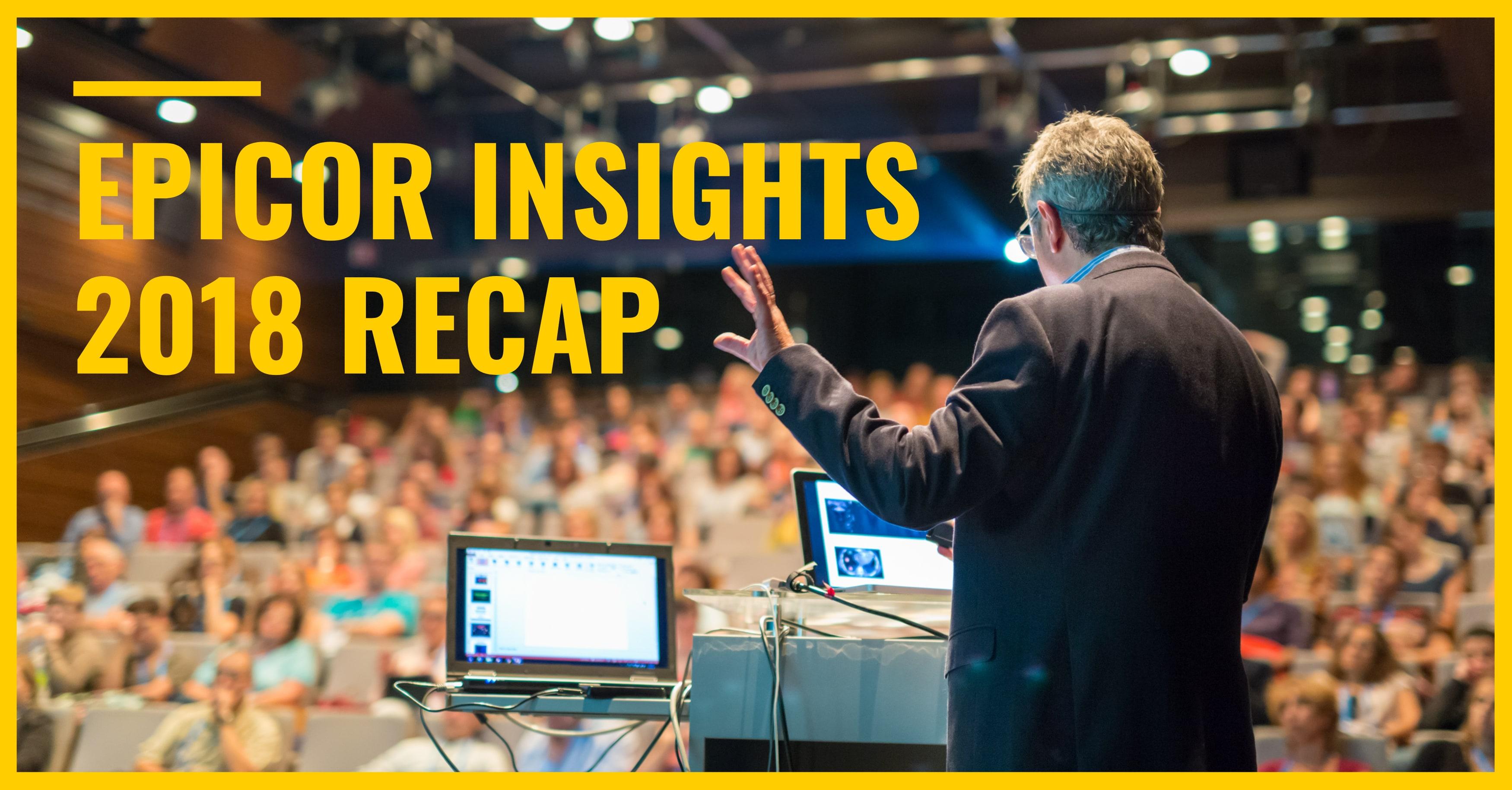 Epicor Insights 2018