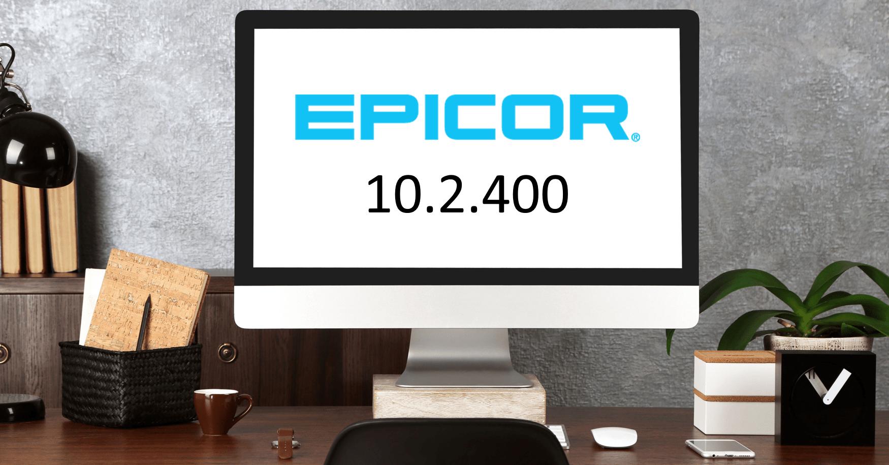 Epicor ERP 10.2.400