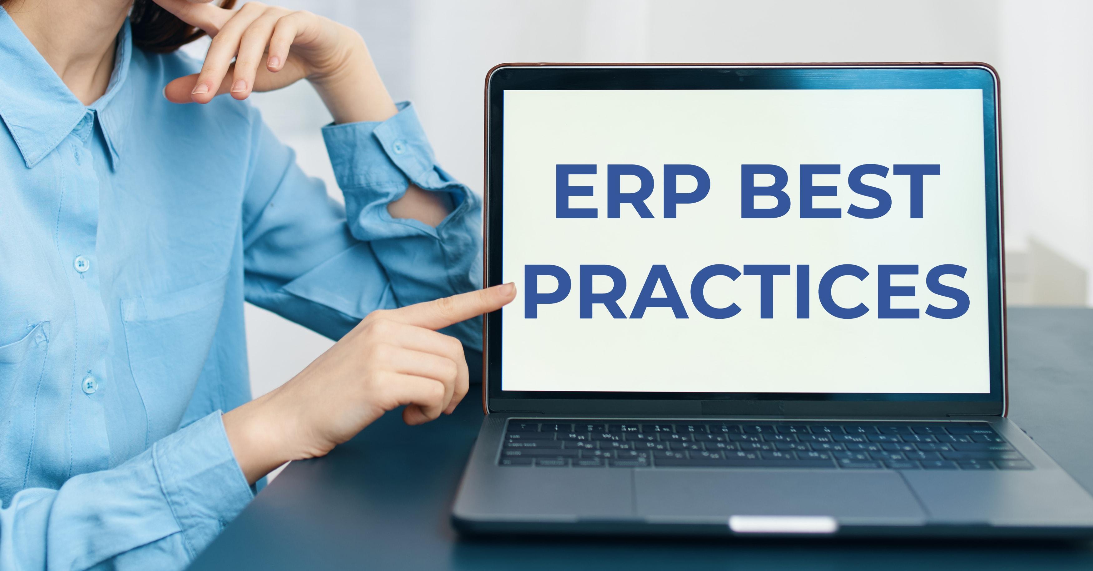 ERP Best Practices