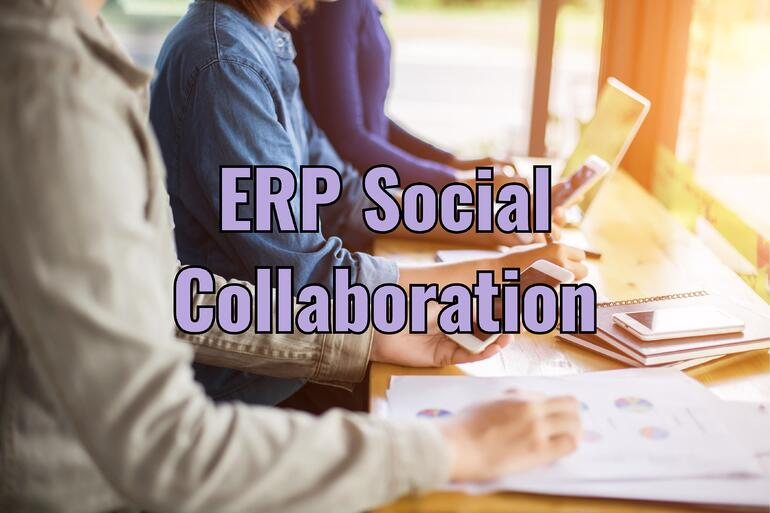 ERP Social Collaboration