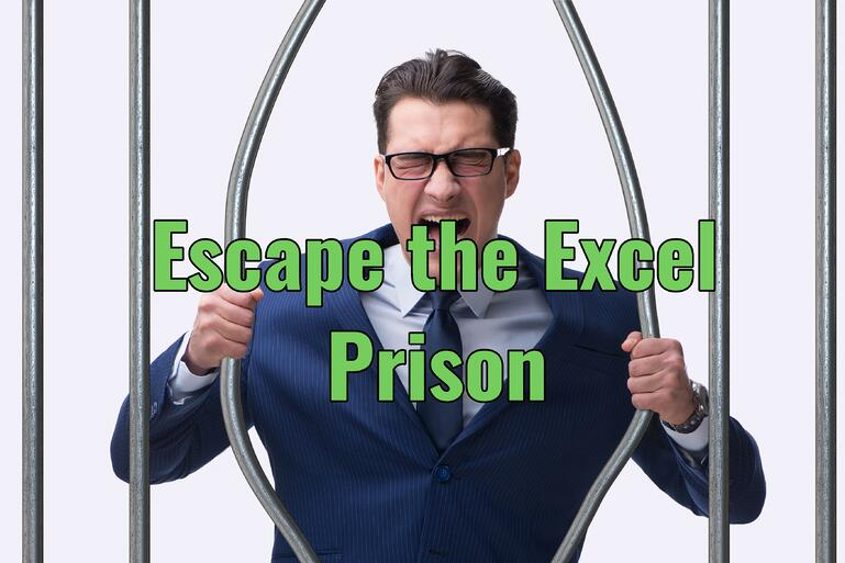 Escape Excel Enter Data Efficiently with ERP