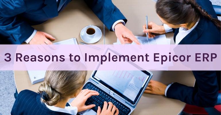 Implement Epicor ERP