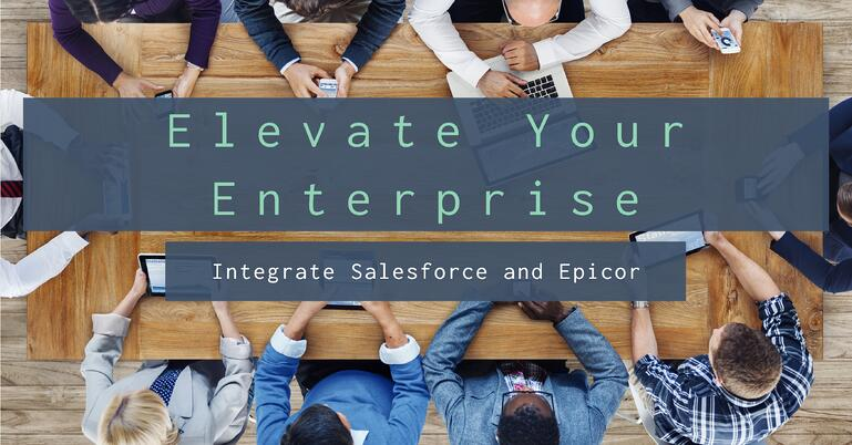 Integrate Salesforce and Epicor