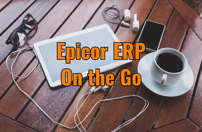 mobile epicor erp