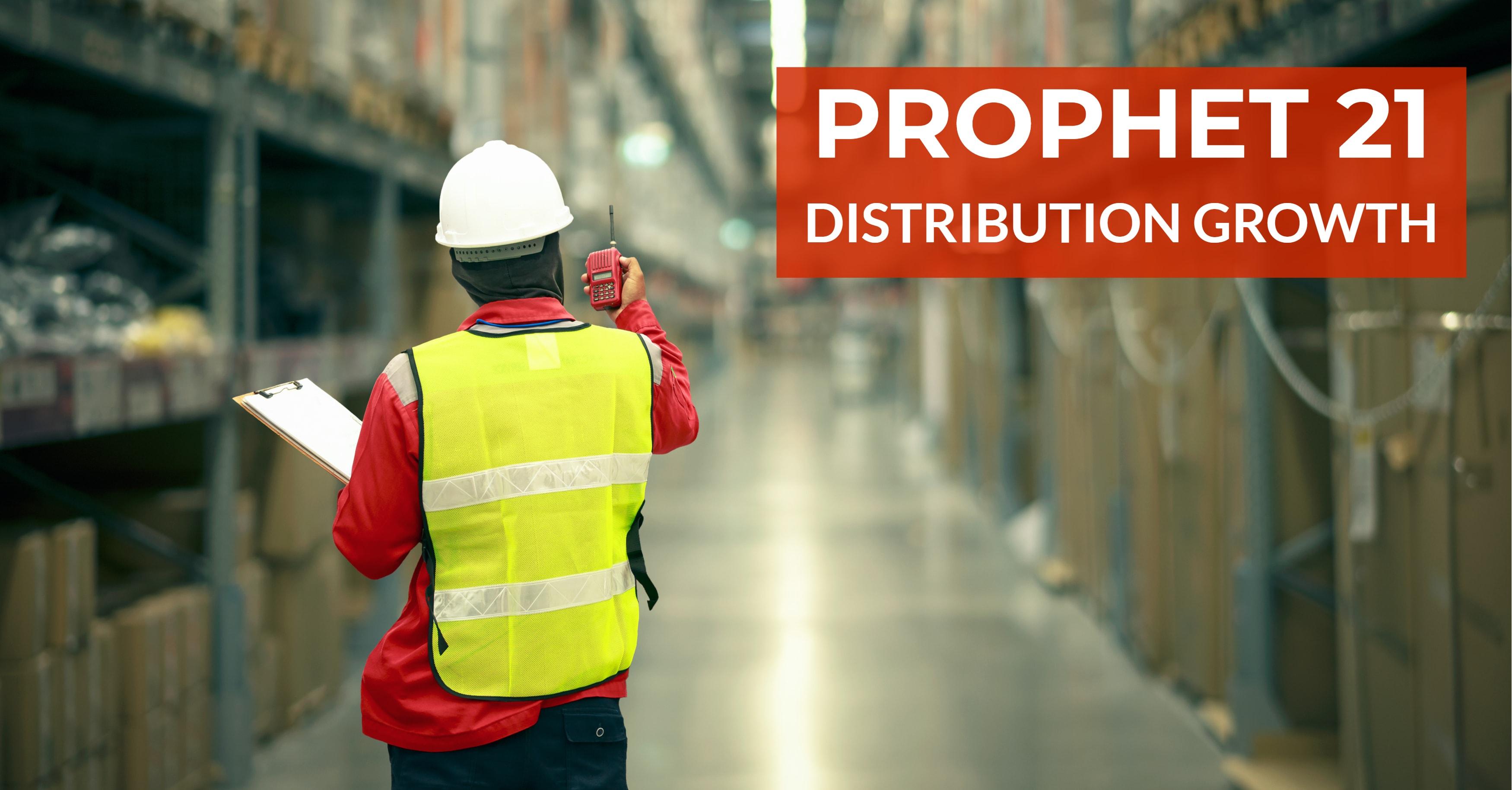 Prophet 21 Distribution Growth