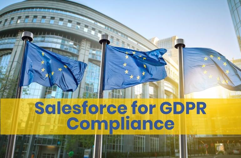 Salesforce CRM GDPR Compliance