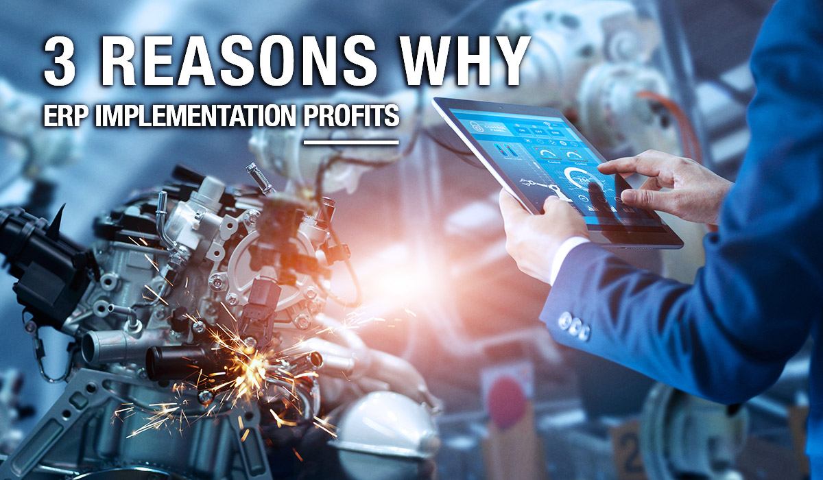 3 Reasons Why ERP Implementation Profits