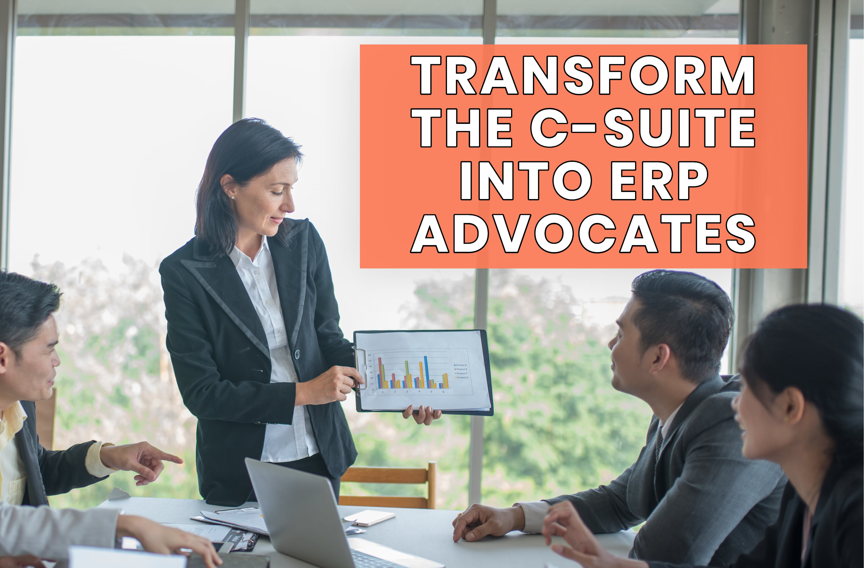 Get the C-Suite on Board with Your ERP Implementation