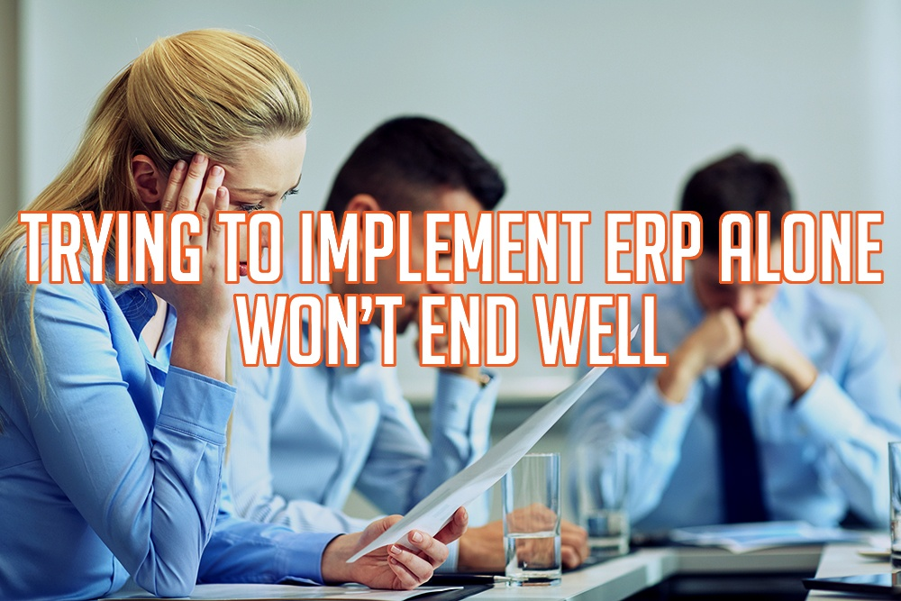 Trying to Implement ERP Alone Won't End Well