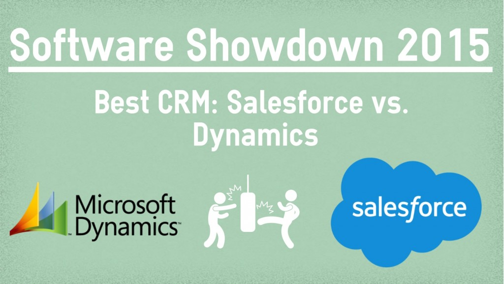 Best CRM: Salesforce vs Dynamics CRM (Part IV) — Overview