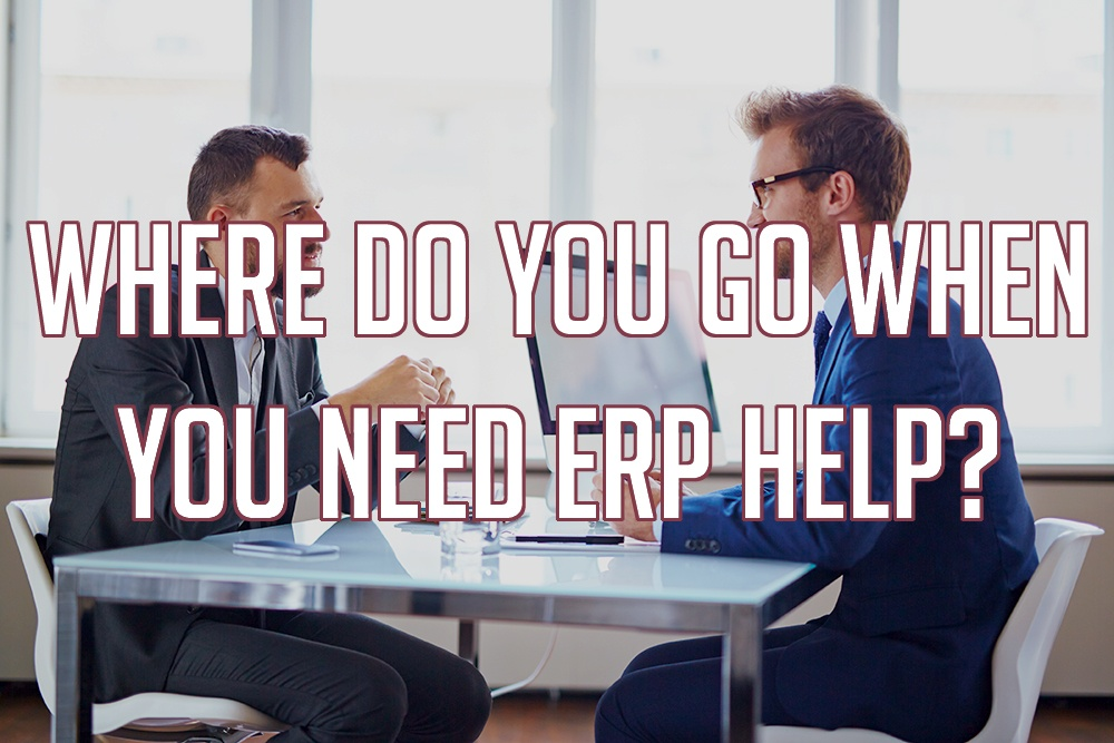 Where Do You Go When You Need ERP Help?