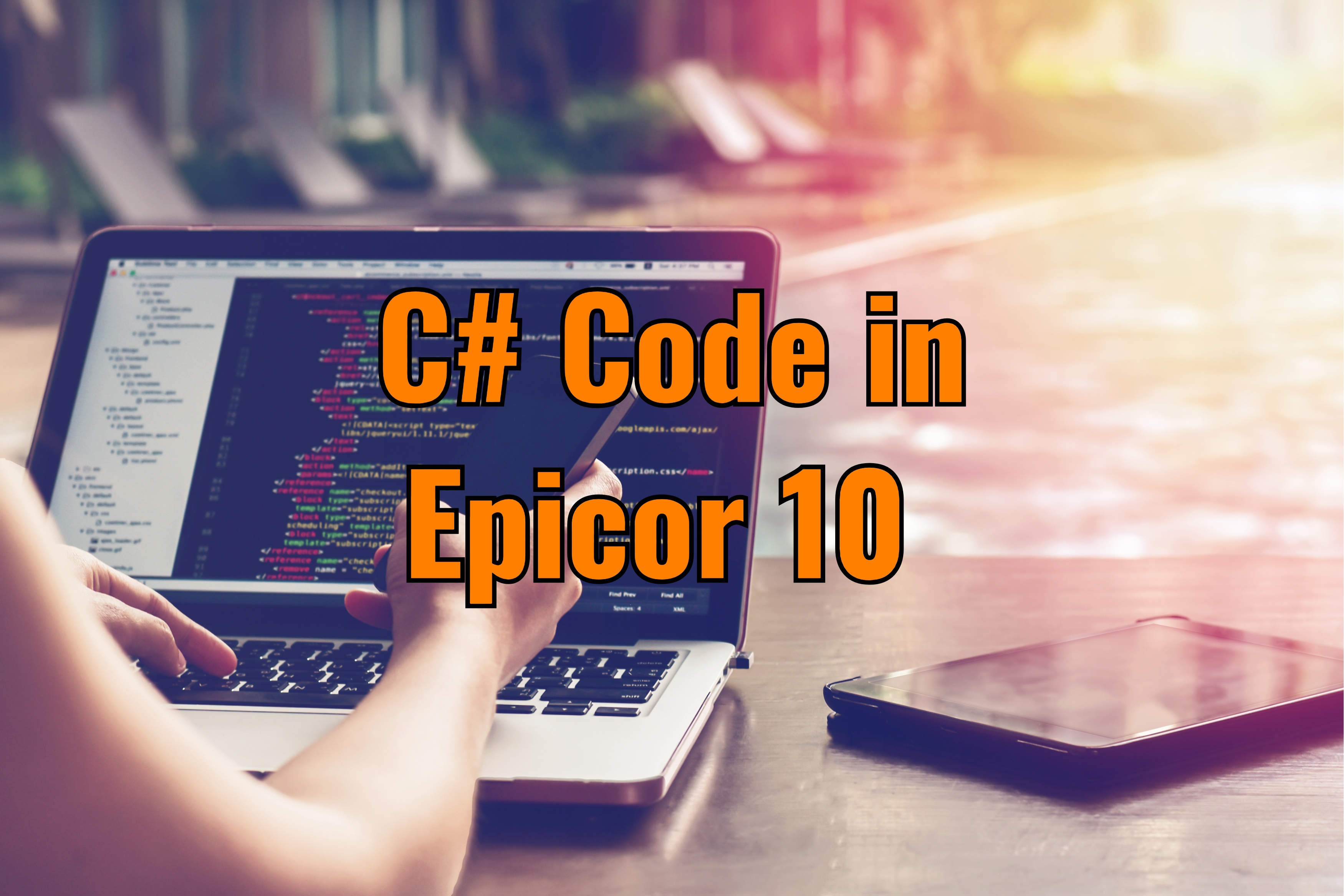 Call Business Object Using C# Code in Epicor 10