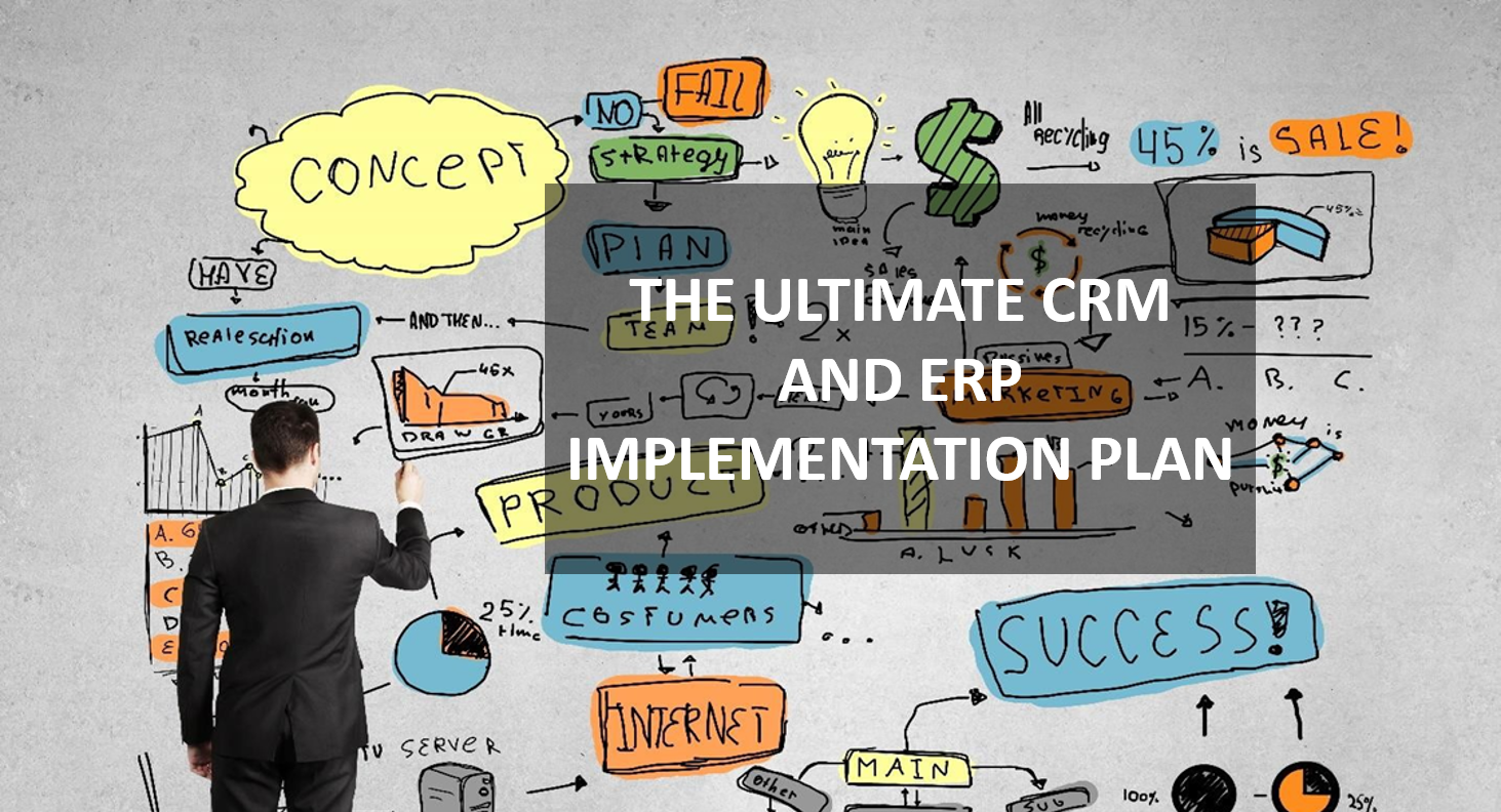 The Ultimate CRM and ERP Implementation Plan E-Book